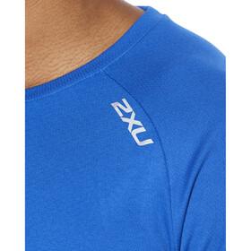 2XU Xvent G2 Koszulka z długim rękawem Mężczyźni, chilled cobalt/silver reflective